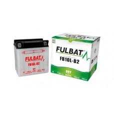 BATERIA FULBAT YB10L-B2  Eletrólito Incluído