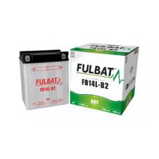 BATERIA FULBAT YB14L-B2  Eletrólito Incluído