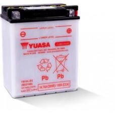 BATERIA YUASA YB14L-B2  Eletrólito Incluído