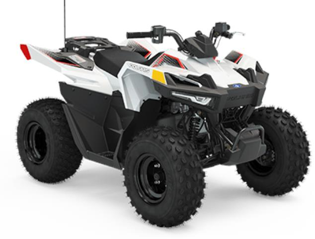 Polaris OUTLAW 70 BRIGHT WHITE/INDY RED